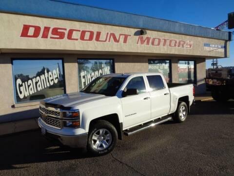 2014 Chevrolet Silverado 1500 for sale at Discount Motors in Pueblo CO