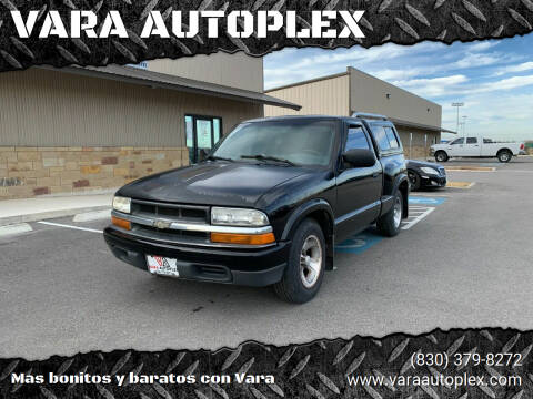 1999 Chevrolet S-10 for sale at VARA AUTOPLEX in Seguin TX
