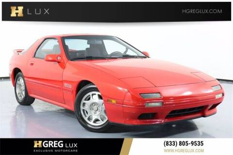 1989 Mazda RX-7 for sale at HGREG LUX EXCLUSIVE MOTORCARS in Pompano Beach FL