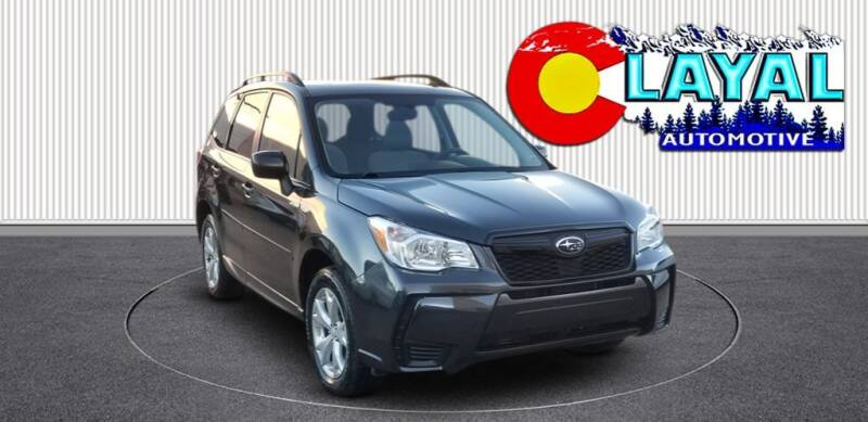 2014 Subaru Forester for sale at Layal Automotive in Englewood CO