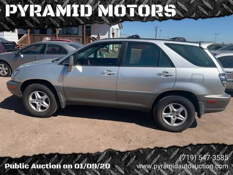 2002 Lexus RX 300 for sale at PYRAMID MOTORS - Pueblo Lot in Pueblo CO