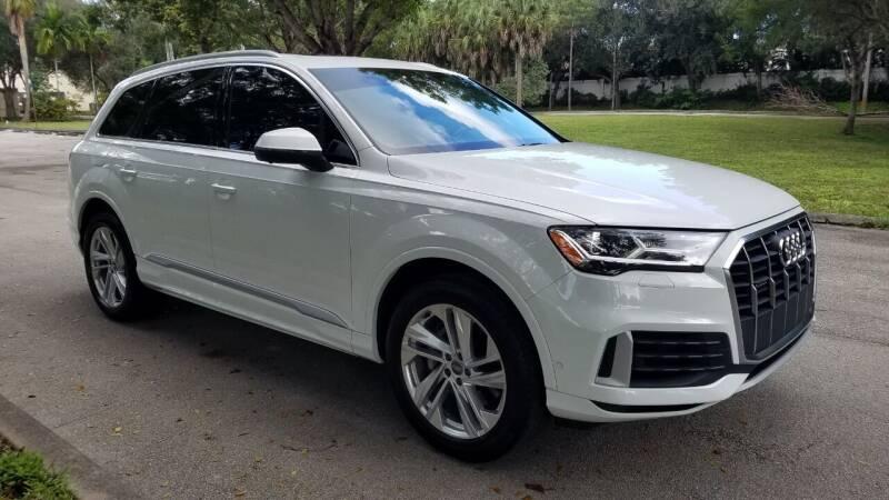 2020 Audi Q7 for sale at DELRAY AUTO MALL in Delray Beach FL