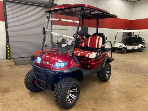 2020 Icon 4 Seater Lifted Golf Cart for sale at Columbus Powersports - Golf Carts in Columbus OH