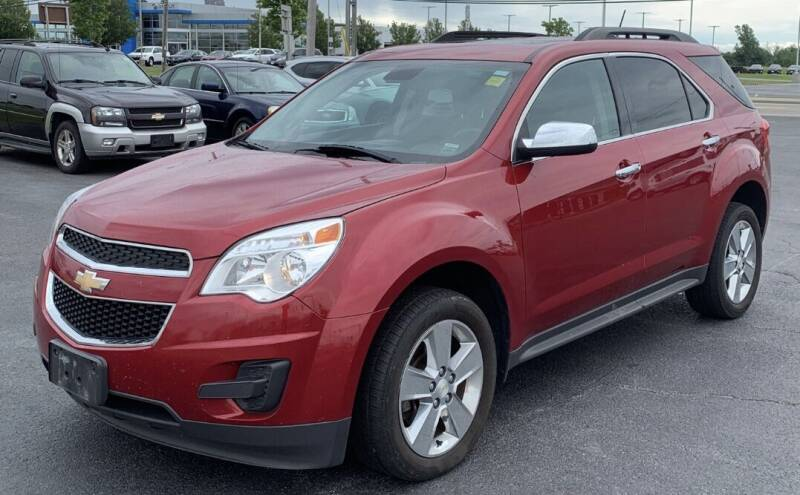 2014 Chevrolet Equinox for sale at Father & Sons Auto Sales in Leeds NY