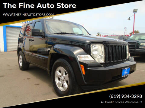 2009 Jeep Liberty for sale at The Fine Auto Store in Imperial Beach CA