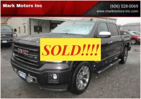 2014 GMC Sierra 1500 for sale at Mark Motors Inc in Gray KY