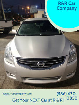 2012 Nissan Altima for sale at R&R Car Company in Mount Clemens MI