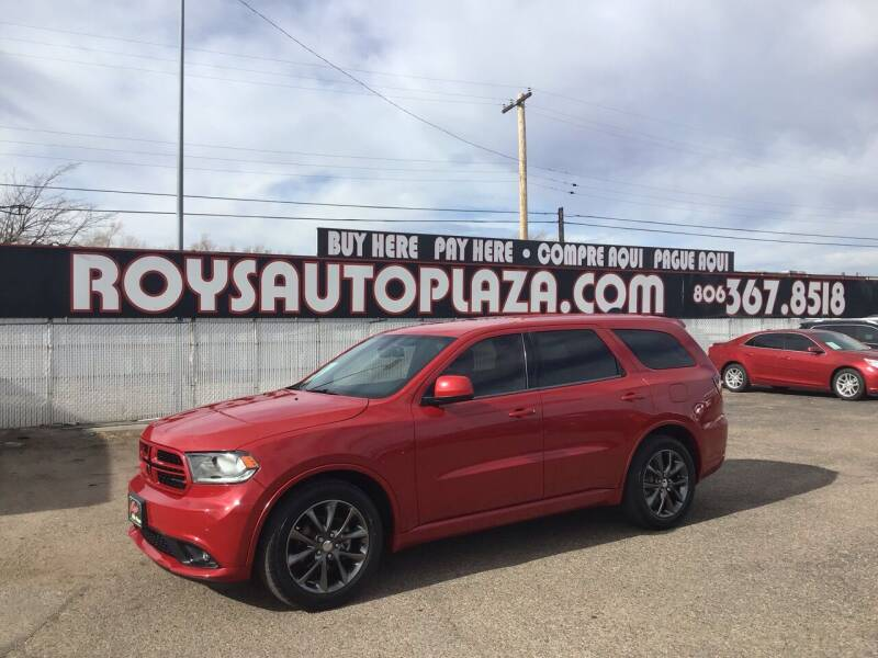 2014 Dodge Durango for sale at Roy's Auto Plaza 2 in Amarillo TX