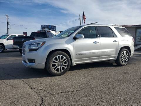 2014 GMC Acadia for sale at Revolution Auto Group in Idaho Falls ID