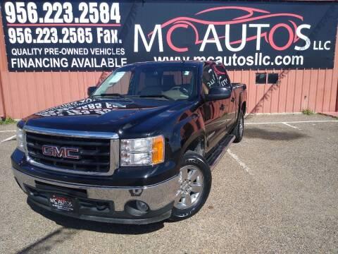 2009 GMC Sierra 1500 for sale at MC Autos LLC in Pharr TX