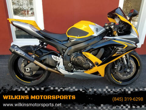 2008 Suzuki GSX-R600 for sale at WILKINS MOTORSPORTS in Brewster NY