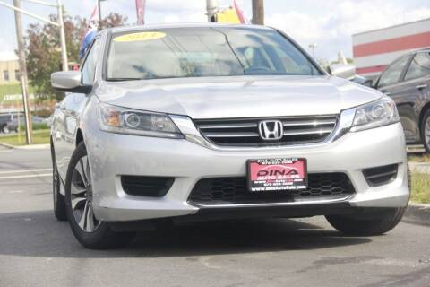 2013 Honda Accord for sale at Dina Auto Sales in Paterson NJ