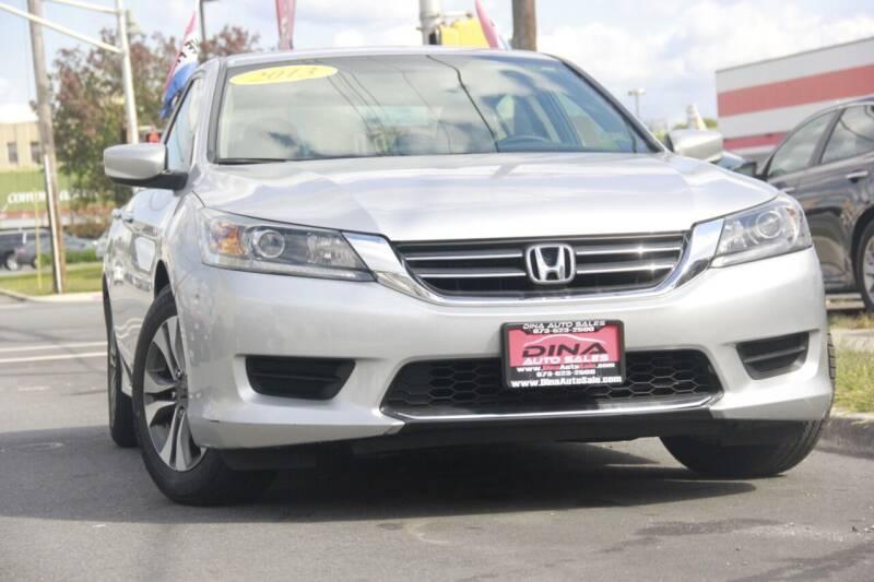 2013 Honda Accord for sale at Dina Auto Sales in Paterson NJ