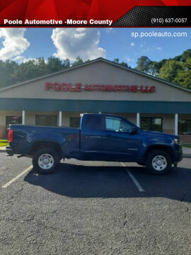 2019 Chevrolet Colorado for sale at Poole Automotive -Moore County in Aberdeen NC