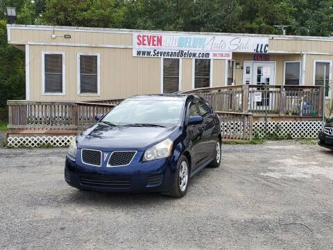 2010 Pontiac Vibe for sale at Seven and Below Auto Sales, LLC in Rockville MD
