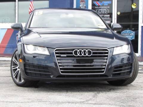2013 Audi A7 for sale at VIP AUTO ENTERPRISE INC. in Orlando FL