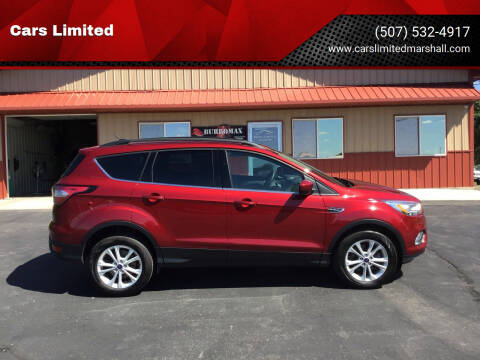 2017 Ford Escape for sale at Cars Limited in Marshall MN