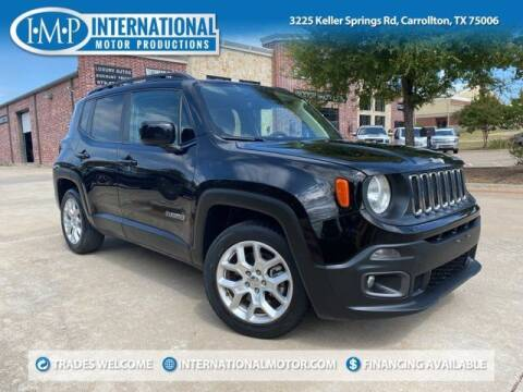 2018 Jeep Renegade for sale at International Motor Productions in Carrollton TX