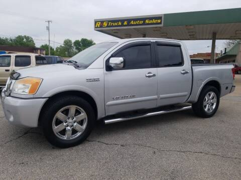 2010 Nissan Titan for sale at R & S TRUCK & AUTO SALES in Vinita OK