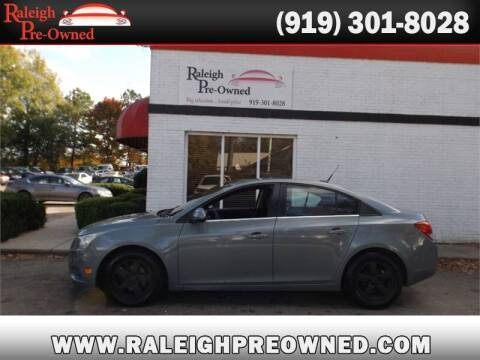 2013 Chevrolet Cruze for sale at Raleigh Pre-Owned in Raleigh NC