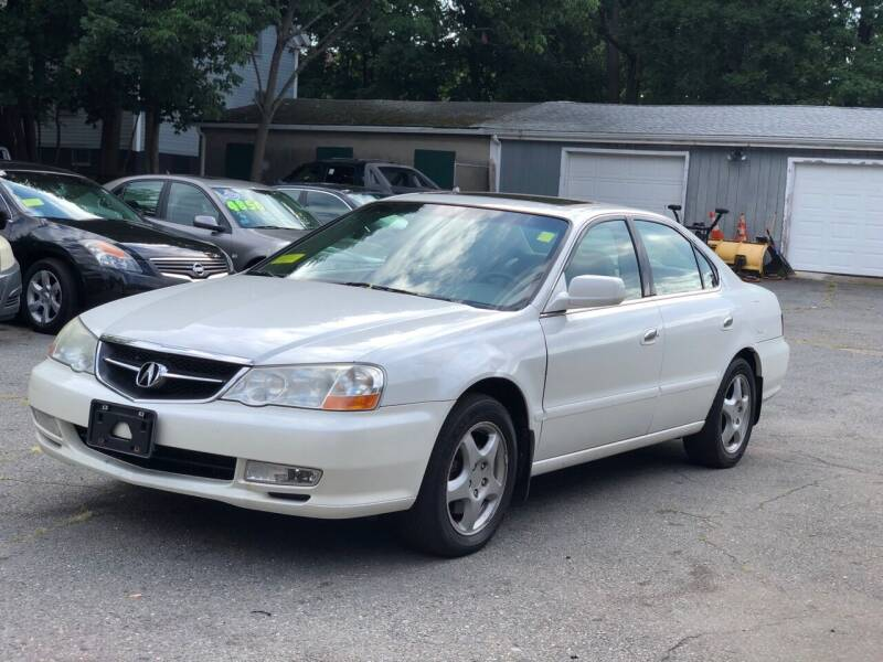 2002 Acura TL for sale at Emory Street Auto Sales and Service in Attleboro MA