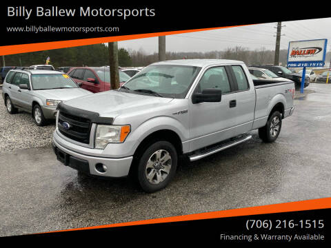 2013 Ford F-150 for sale at Billy Ballew Motorsports in Dawsonville GA