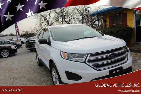 2017 Ford Edge for sale at Global Vehicles,Inc in Irving TX