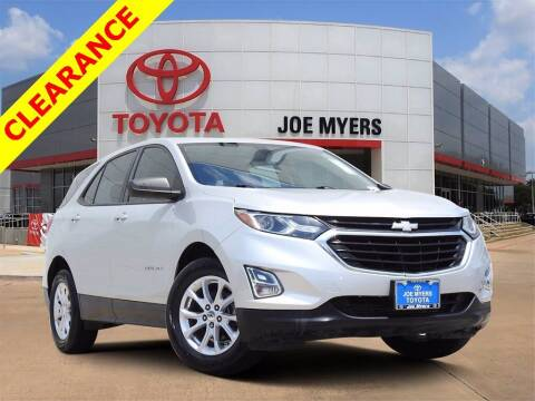 2018 Chevrolet Equinox for sale at Joe Myers Toyota PreOwned in Houston TX