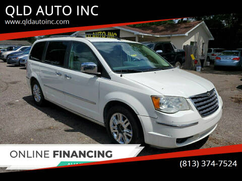 2008 Chrysler Town and Country for sale at QLD AUTO INC in Tampa FL