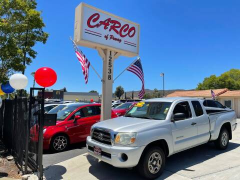 2009 Toyota Tacoma for sale at CARCO SALES & FINANCE - CARCO OF POWAY in Poway CA