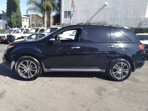 2009 Acura MDX for sale at Western Motors Inc in Los Angeles CA