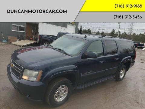 2007 Chevrolet Suburban for sale at DuncanMotorcar.com in Buffalo NY
