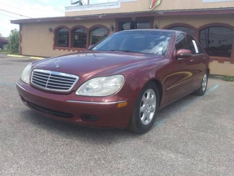 2002 Mercedes-Benz S-Class for sale at Best Buy Autos in Mobile AL