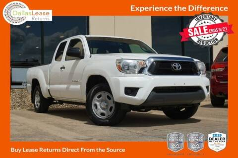 2013 Toyota Tacoma for sale at Dallas Auto Finance in Dallas TX