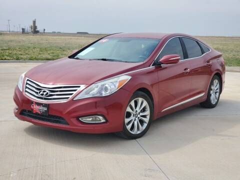 2014 Hyundai Azera for sale at Chihuahua Auto Sales in Perryton TX
