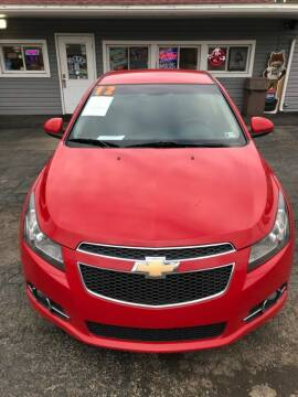 2012 Chevrolet Cruze for sale at Car Factory Outlet in Lower Burrell PA