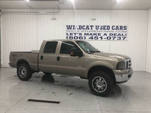 2005 Ford F-250 Super Duty for sale at Wildcat Used Cars in Somerset KY