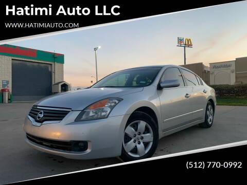 2008 Nissan Altima for sale at Hatimi Auto LLC in Buda TX