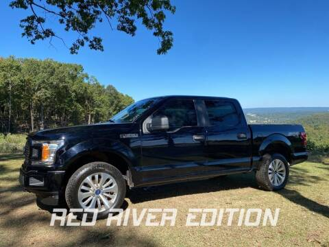 2018 Ford F-150 for sale at RED RIVER DODGE - Red River of Malvern in Malvern AR