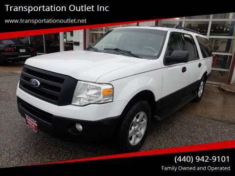 2010 Ford Expedition EL for sale at Transportation Outlet Inc in Eastlake OH