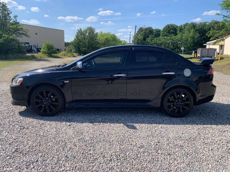 2011 Mitsubishi Lancer for sale at MEEK MOTORS in North Chesterfield VA