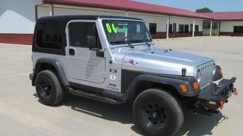 2006 Jeep Wrangler for sale at New Horizons Auto Center in Council Bluffs IA