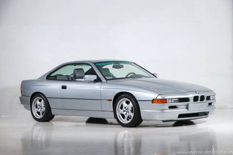 1995 BMW 8 Series for sale at Motorcar Classics in Farmingdale NY