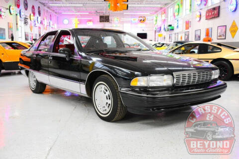 1991 Chevrolet Caprice for sale at Classics and Beyond Auto Gallery in Wayne MI