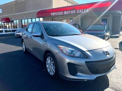 2012 Mazda MAZDA3 for sale at Payless Motor Sales LLC in Burlington NC