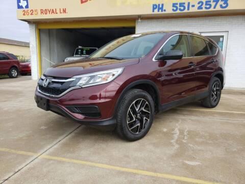 2016 Honda CR-V for sale at Best Royal Car Sales in Dallas TX