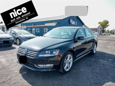 2013 Volkswagen Passat for sale at PRESTIGE AUTO SALES in Spearfish SD