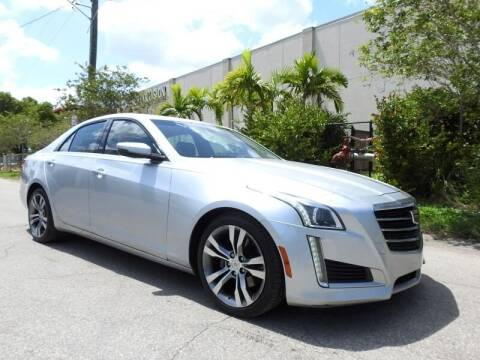 2015 Cadillac CTS for sale at SUPER DEAL MOTORS 441 in Hollywood FL