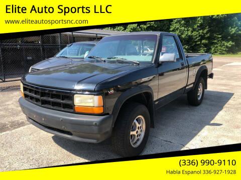 1996 Dodge Dakota for sale at Elite Auto Sports LLC in Wilkesboro NC