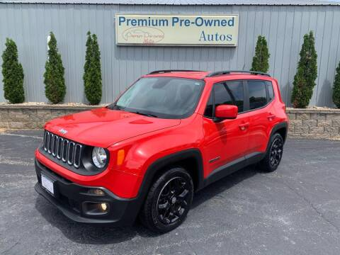 2017 Jeep Renegade for sale at PREMIUM PRE-OWNED AUTOS in East Peoria IL